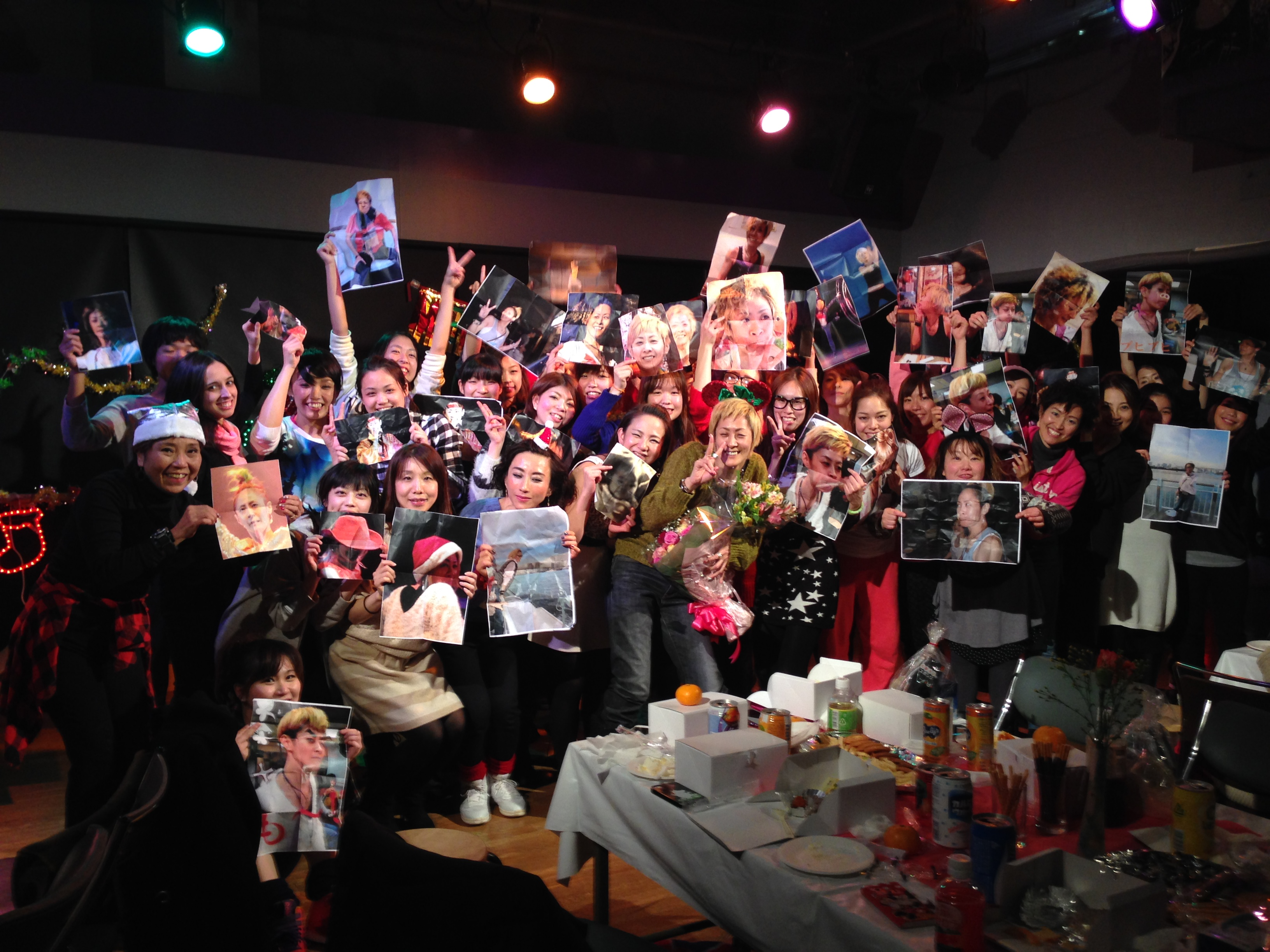Toshimi birthday mob